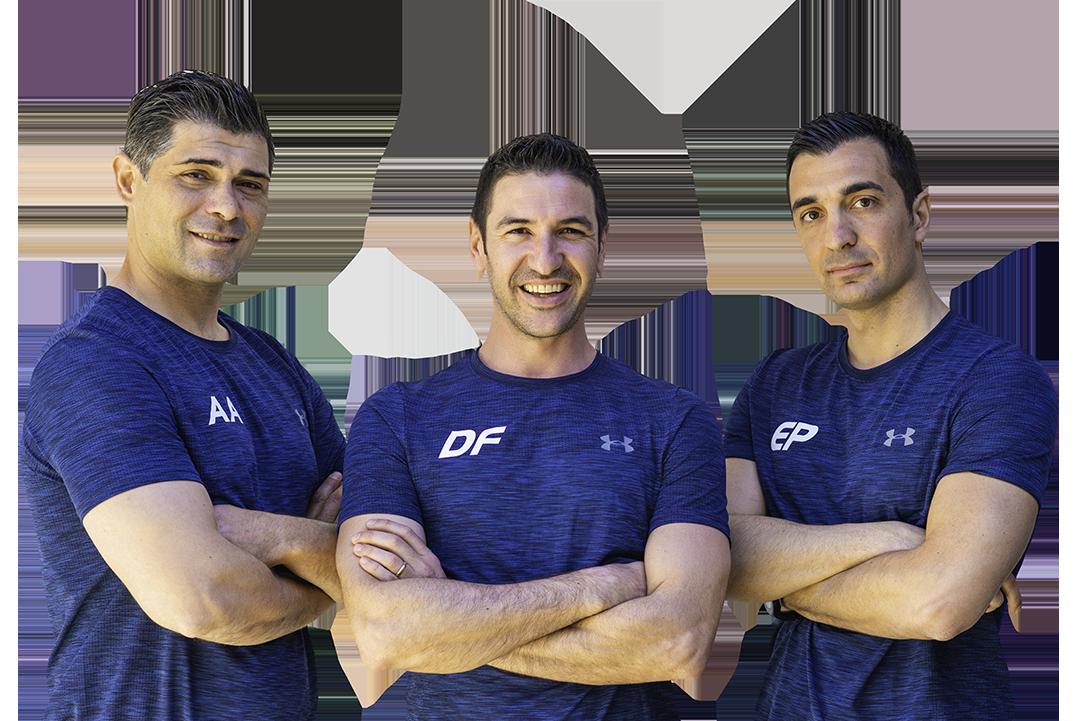 Il team fisiologym foto